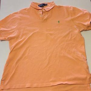 Polo Ralph Lauren Shirt custom fit XL Light Orange